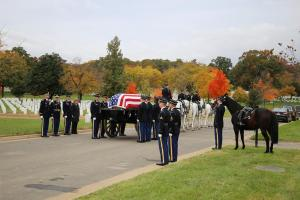 Colonel Robert Carr (USA Ret.) interred at Arlington National Cemetery with Full Honors