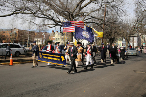 George Washington Birthday Parade & Wreath Laying at Tomb of the Unknown Rev War Soldier, 18 Feb 2019