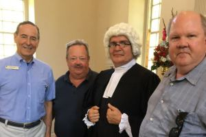 Jul 1 - Declaration of Independence Read at Pohick Church.
