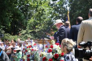 Naturalization Ceremony at Mt. Vernon – 04 July 2018