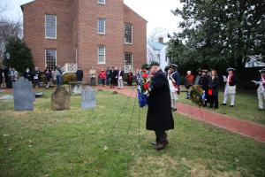 Old Presbyterian Meeting House. Wreath Laying - 19 Feb 2018