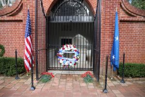 VETERANS DAY WREATH LAYING CEREMONY AT GENERAL WASHINGTON'S TOMB