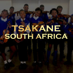 Youth Orchestra of Tsakane, South Africa