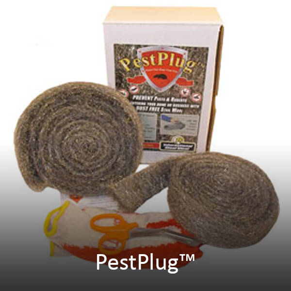 Pestplug stainless steel wool kit