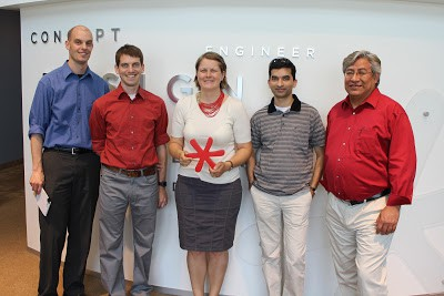 Innovation Fellows Program visits WhiteBoard Product Solutions