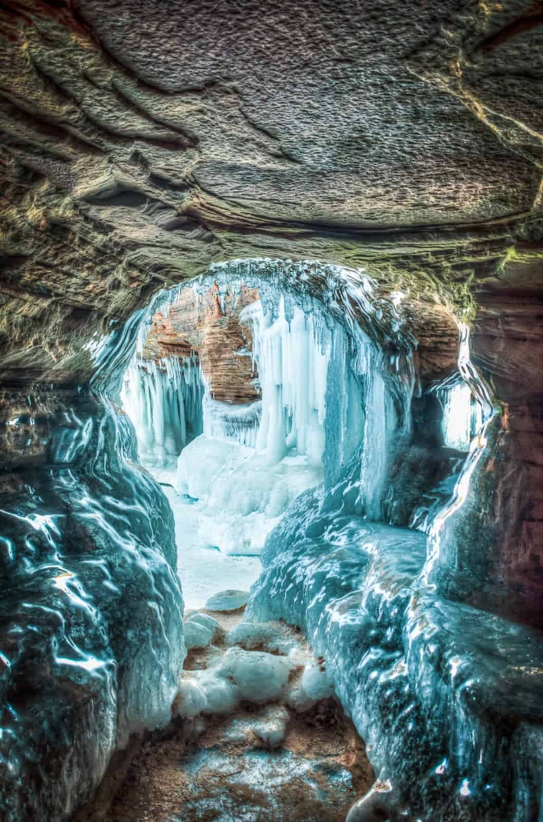 Bayfield Wi Ice Caves