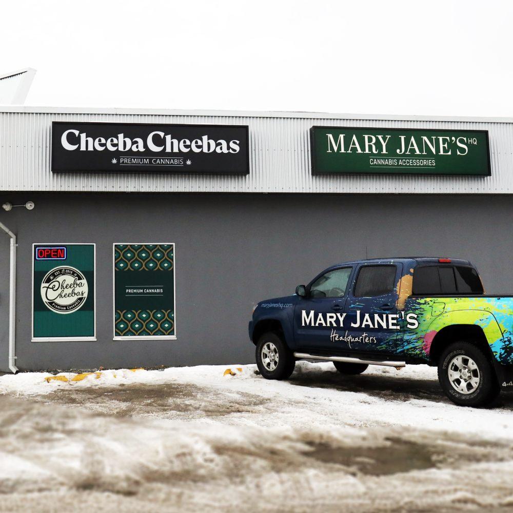 Cheebas & Mary Janes HQ - West Kelowna