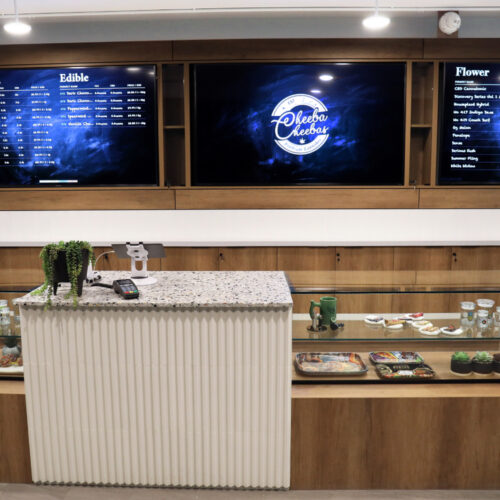 CHEEBA CHEEBAS CANNABIS STORE INTERIOR