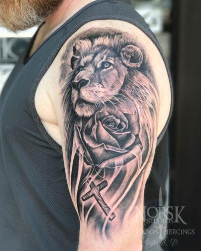 lionrosecross