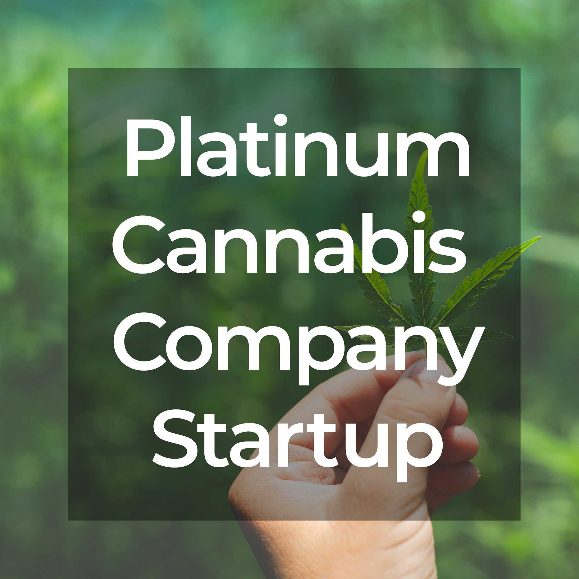 Platinum Cannabis Company Startup