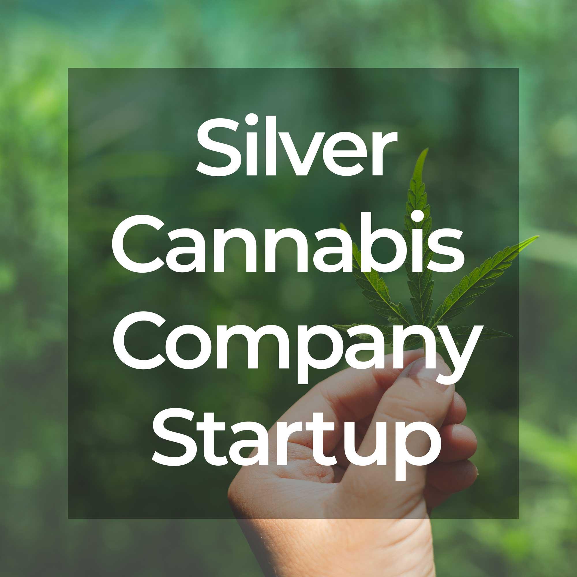 Silver Cannabis Company Startup