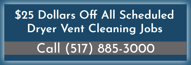 dryer vent cleaning promotion