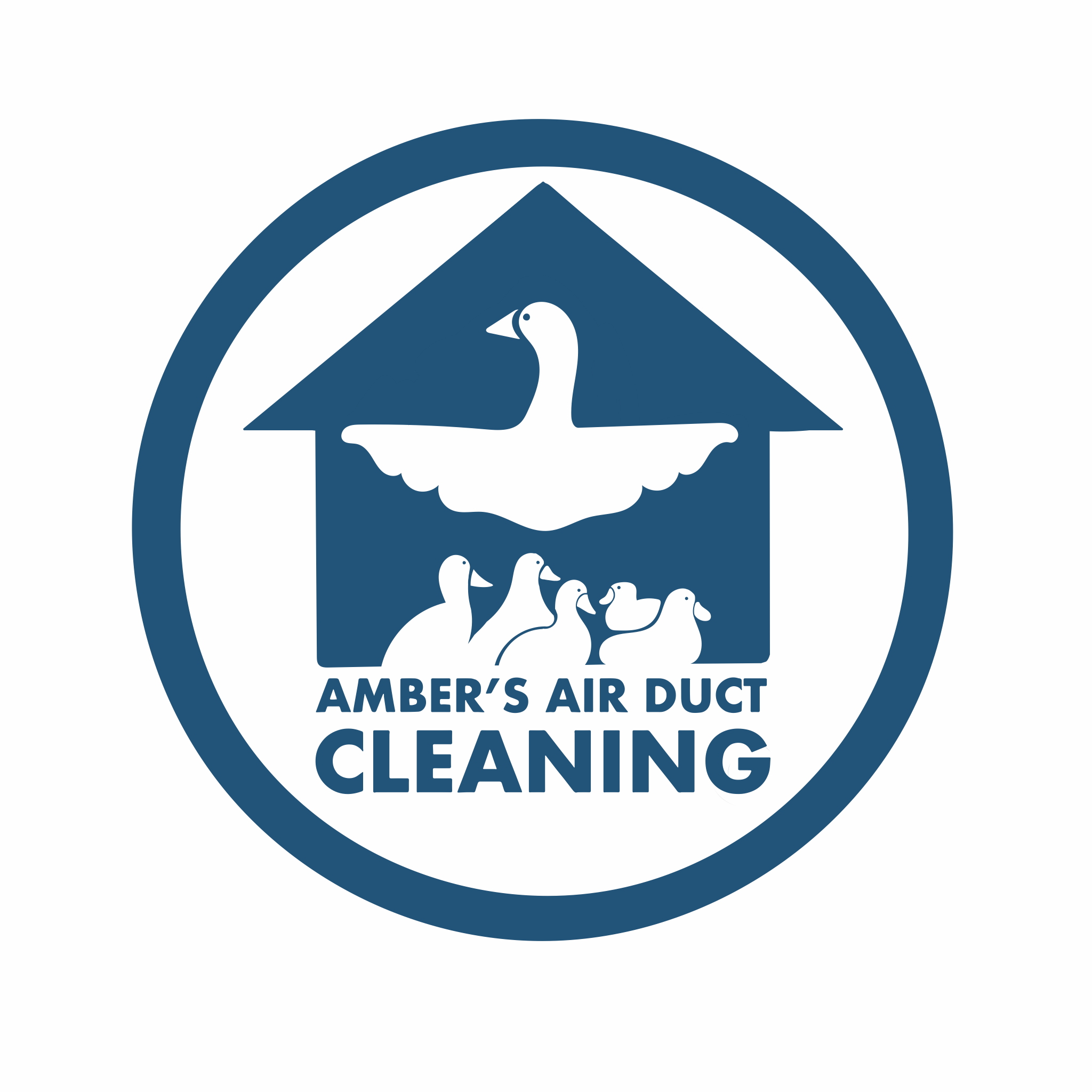 Amber's Air Duct Cleaning Logo