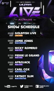 Ultra Music Festival Schedule