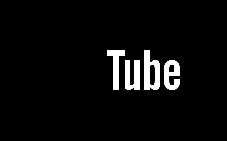 YouTube logo dark. Photo by: YouTube