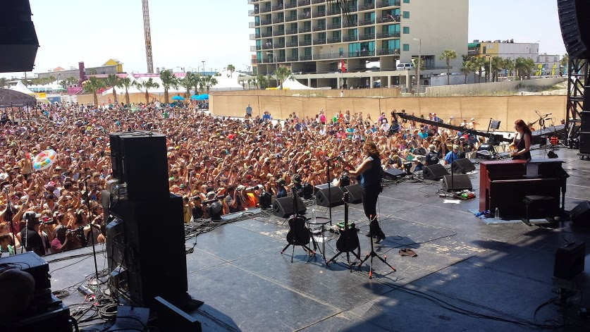 Ingrid Michaelson at Hangout Fest 2014. Photo by: Matthew McGuire