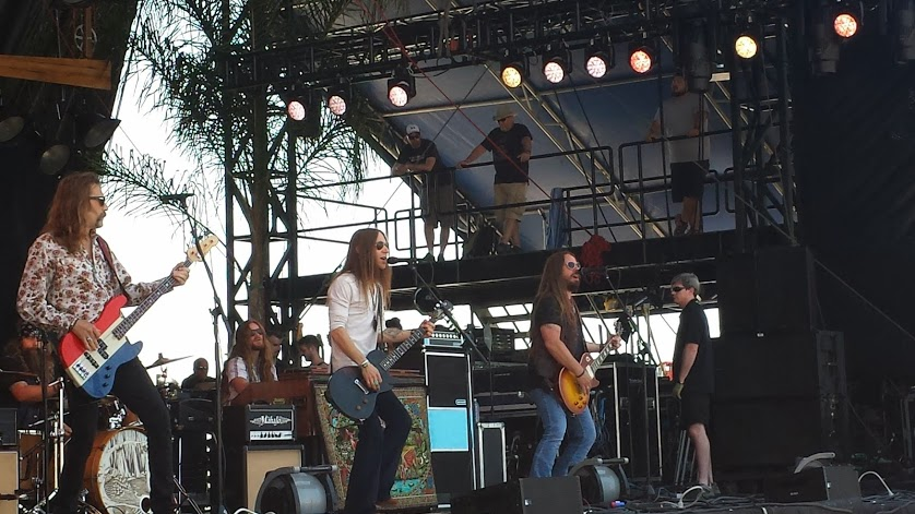 Blackberry Smoke at Hangout Fest 2014. Photo by: Matthew McGuire