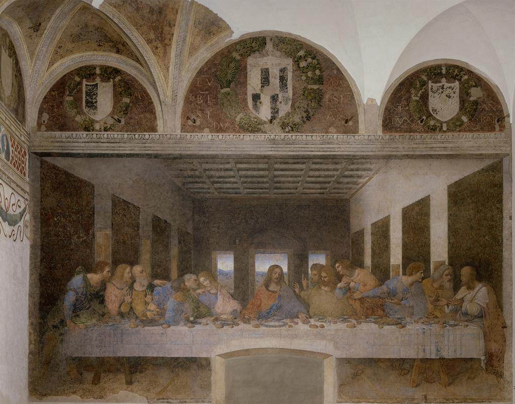 The Last Supper. Photo by: Wikimedia Commons.