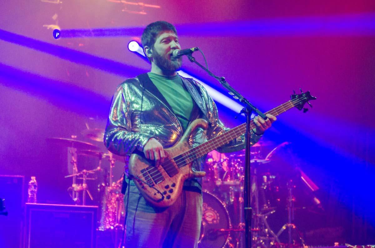 Moe. live at the Metropolitan Theatre. Concert on 3/8/15 in Morgantown, West Virginia. Photo by: Nicholas Hess.