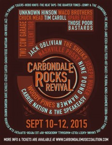 Carbondale Rock Revival. Photo by: Carbondale Music Coalition