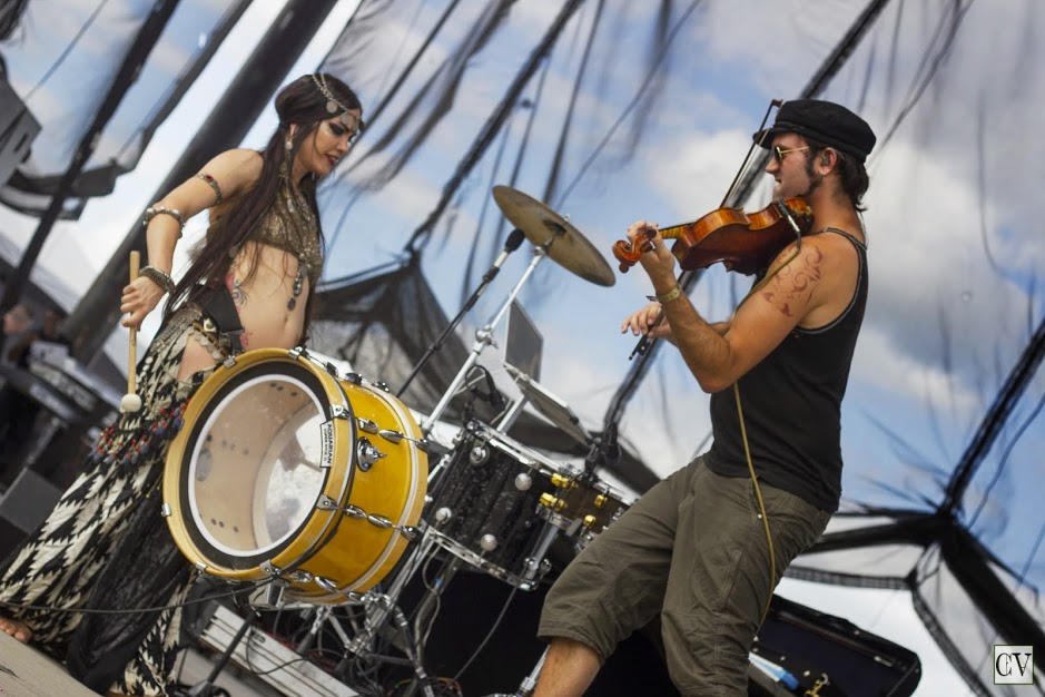 Beats Antique at Summer Set Music Festival 2013. Photo by: Matthew McGuire
