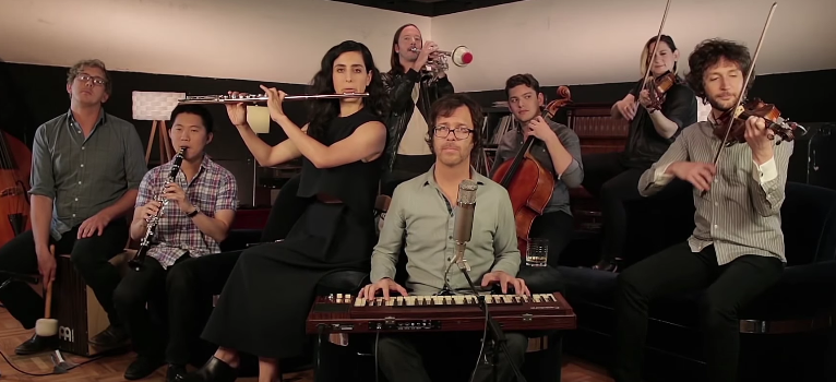 Ben Folds with yMusic. Photo by: New West Records / YouTube