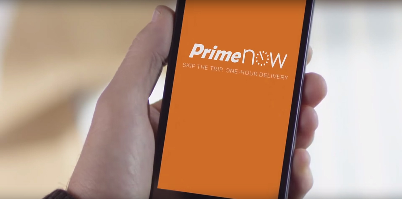 Amazon Prime Now. Photo by: Amazon / YouTube