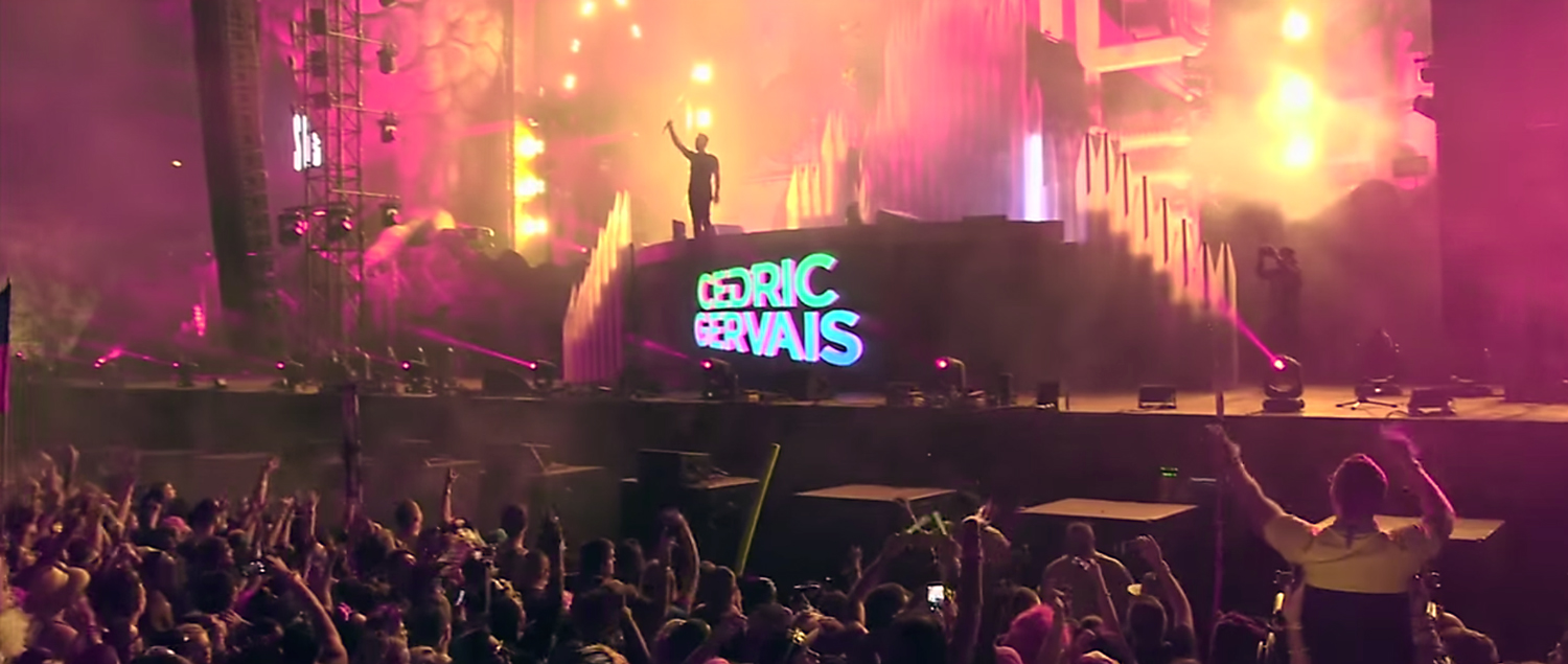 Cedric Gervais. Image by: Spinnin' Records / YouTube