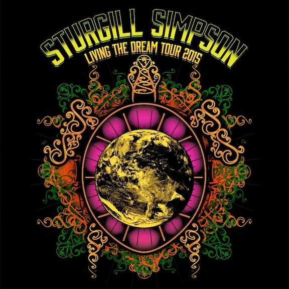 Sturgill Simpspn, Living the Dream Tour.