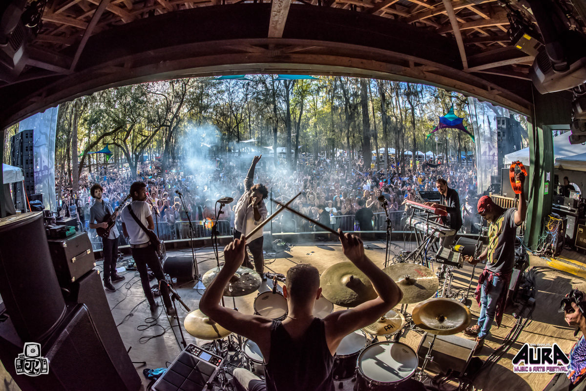 AURA Music and Arts Festival at the Spirit Of Suwannee Music Park in Live Oak, FL March 3 - 5, 2016. Image by: Jason Koerner