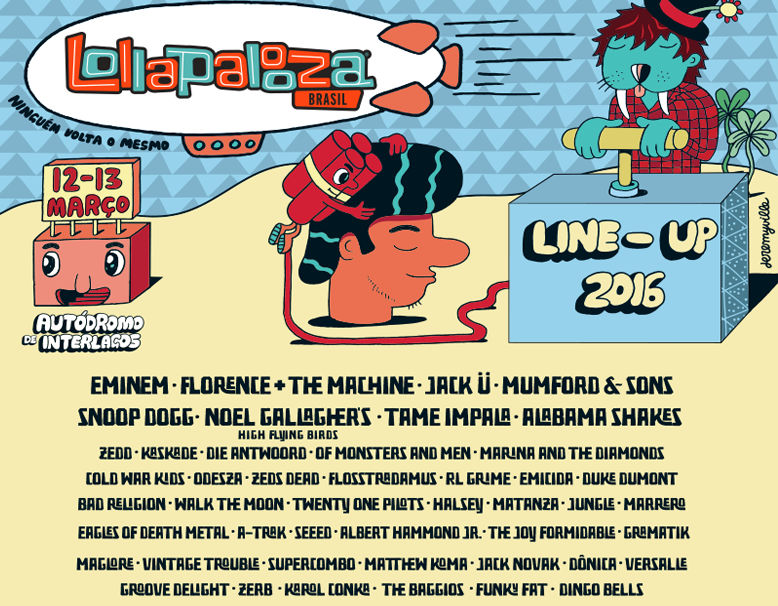 Lollapalooza Brazil 2016. Image by: Lollapalooza