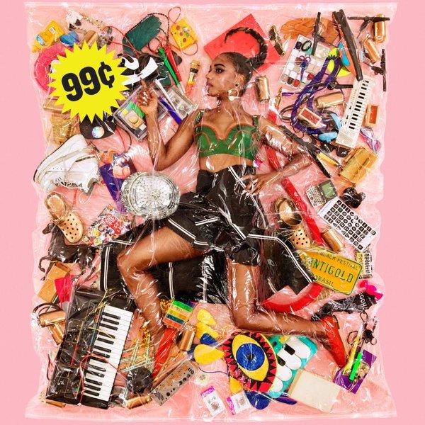 Santigold, album cover art. Photo by: Santigold