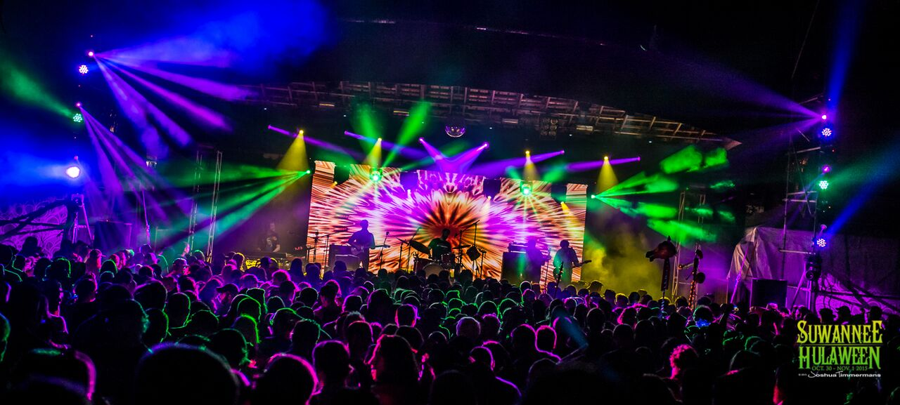 Dumpstaphunk at Hulaween 2015. Photo by: Josh Timmermans