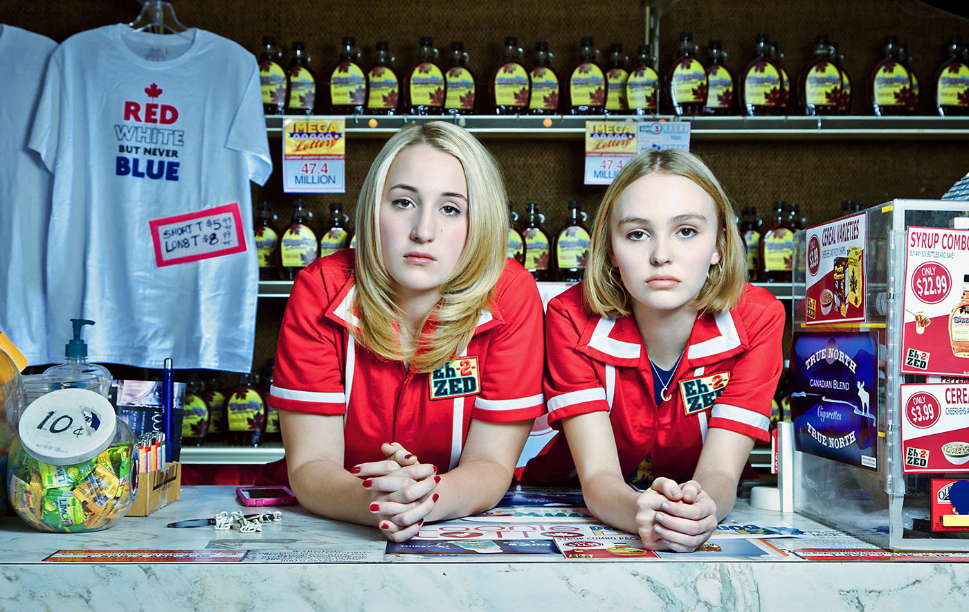 Yoga Hosers. Harley Quinn Smith, Lily Rose Depp. Photo by: Allan Amato / The Sundance Institute