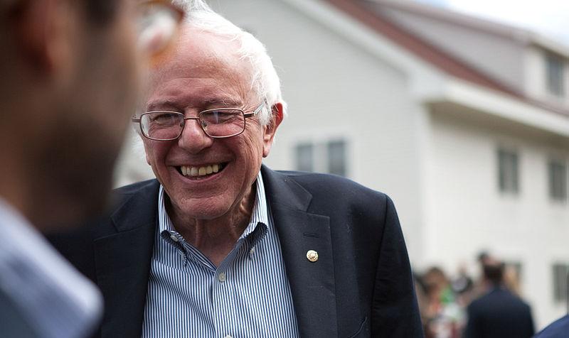 Bernie Sanders portrait. Photo by: Wikimedia Commons