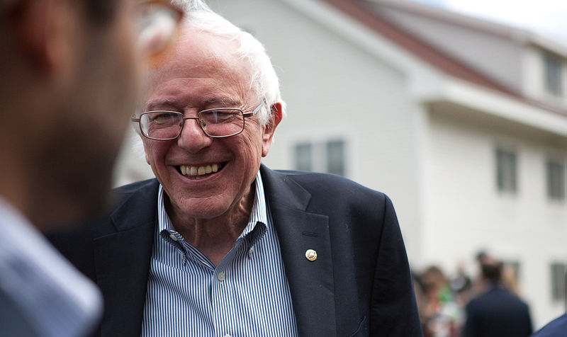 Bernie Sanders portrait. Photo by: Wikimedia Commons