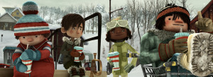 Snowtime! still image.Photo by: Singing Frog Studio. Directed by: Jean-Francois Pouliot and Francois Brisson