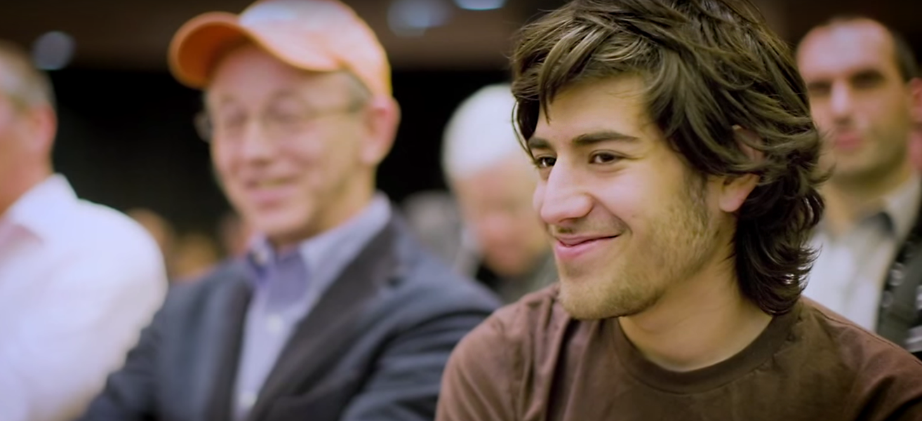 Aaron Swartz still image. Photo by: The Internet's Own Boy: The Story of Aaron Swartz / Brian Knappenberger / YouTube