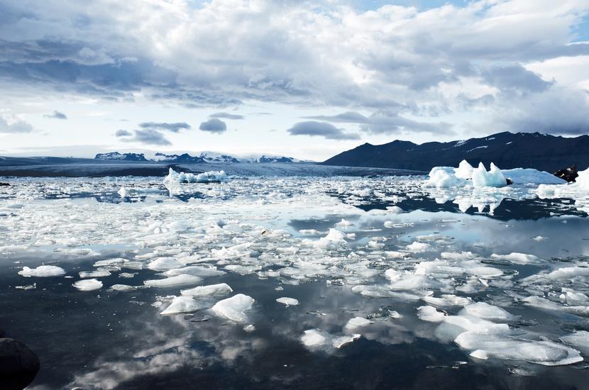 Climate cold glacier iceberg. Icelandic glaciers. Photo by: Jay Mantri