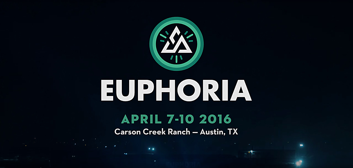 Euphoria Music Festival 2016 lineup. Photo by: Euphoria Music Festival
