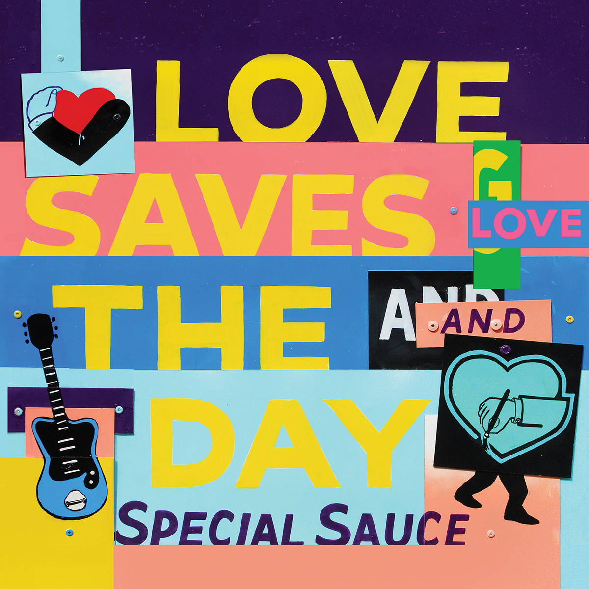 G. Love and the Special Sauce, Loves Saves the Day album cover art. Photo by: G. Love & the Special Sauce
