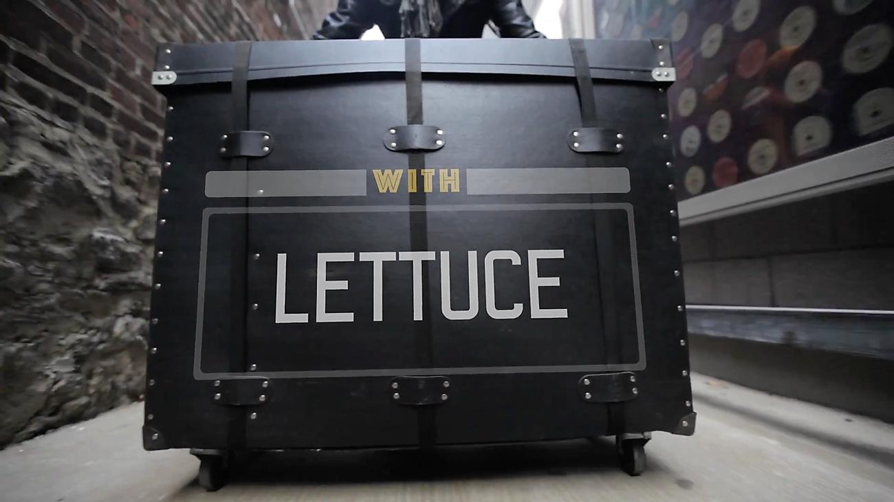 Lettuce. Photo by: World Cafe / YouTube