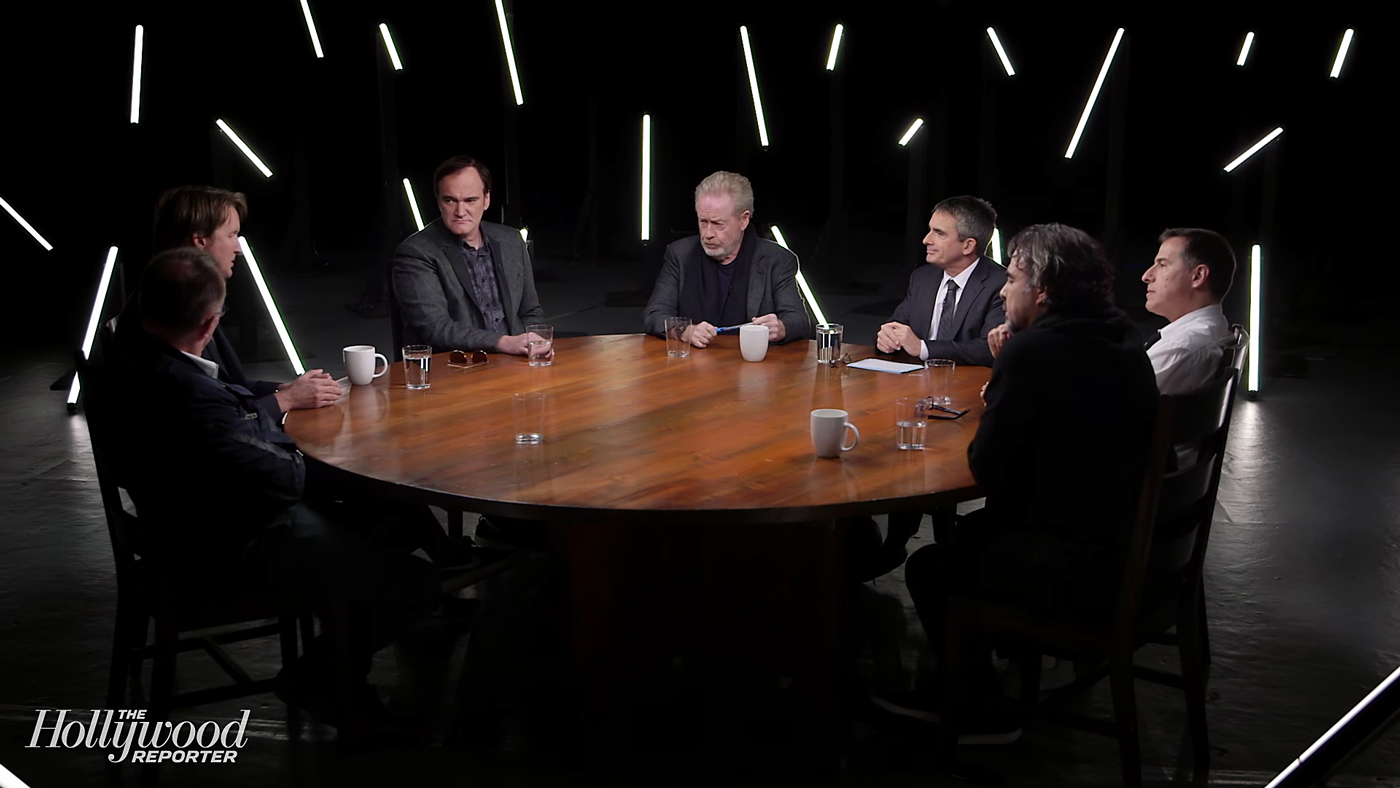 The Hollywood Reporter Roundtable Discussion. Photo by: The Hollywood Reporter / YouTube