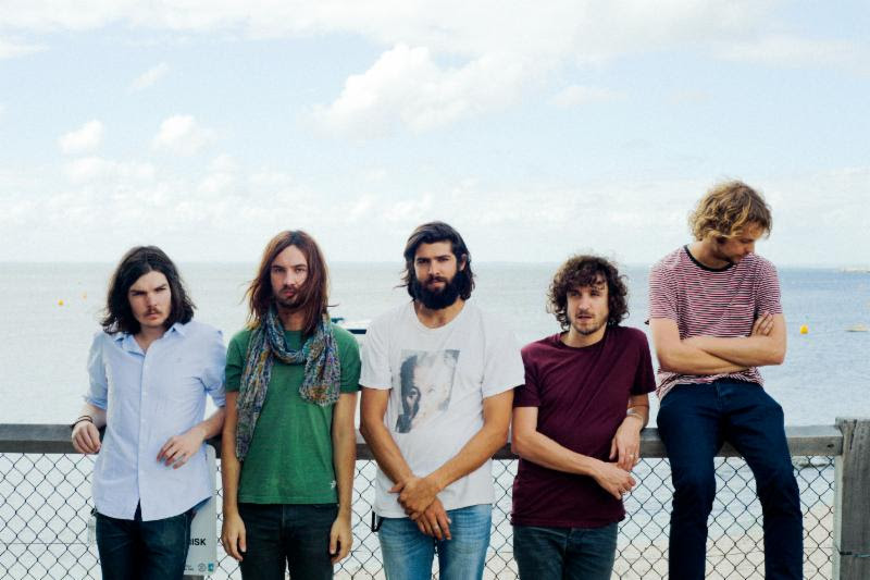 Tame Impala group shot. Photo by: Matt Sav
