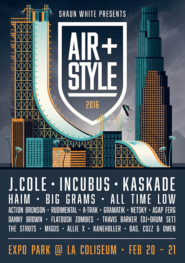 Air + Style hosted by Shaun White. Photo provided.