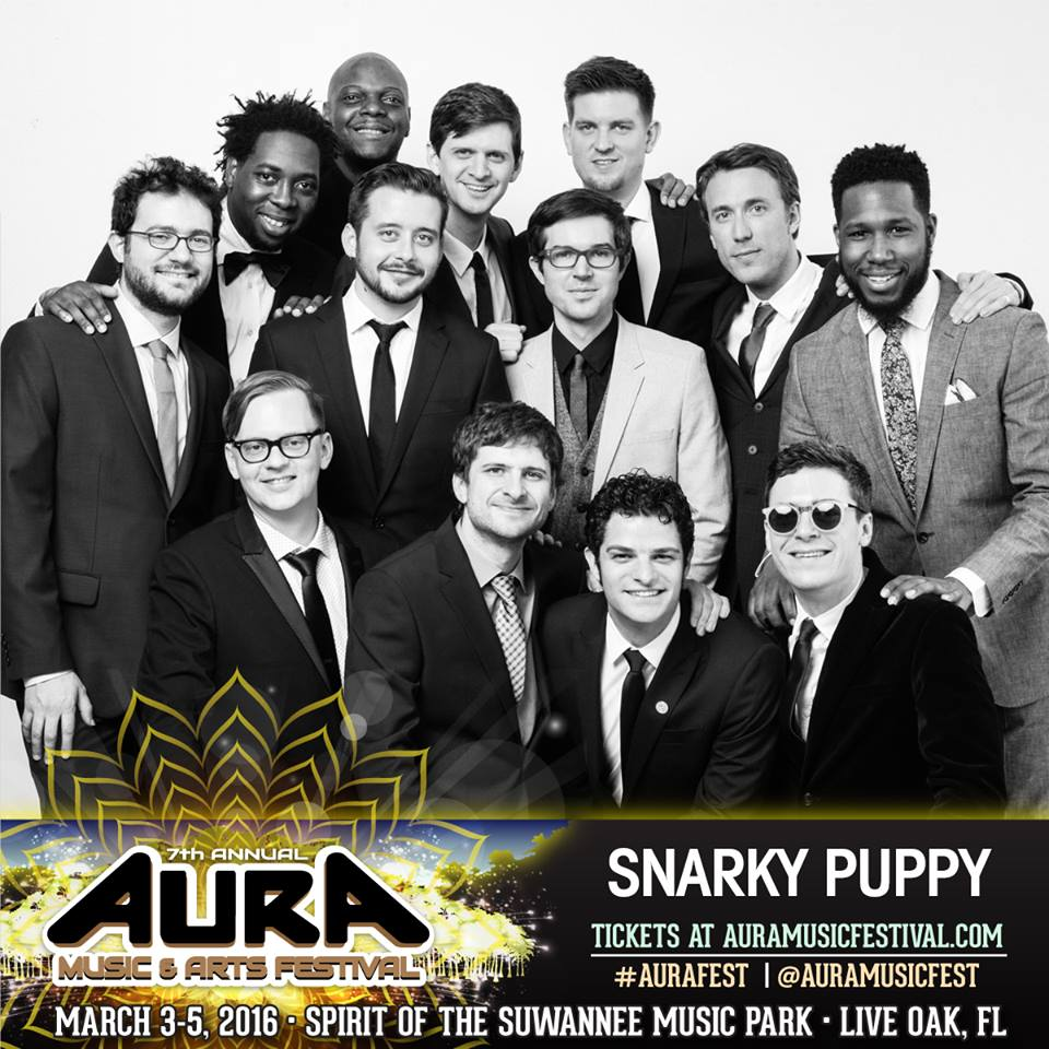 Snarky Puppy at AURA Music Festival 2016. Photo by: Snarky Puppy / AURA Music Festival