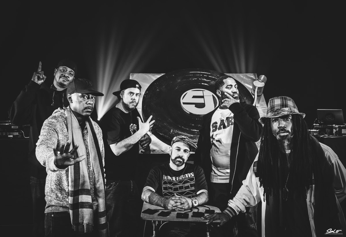 Jurassic 5 to perform live at the ARISE Music Festival in Colorado. Photo courtesy by: Tsunami Music Publicity