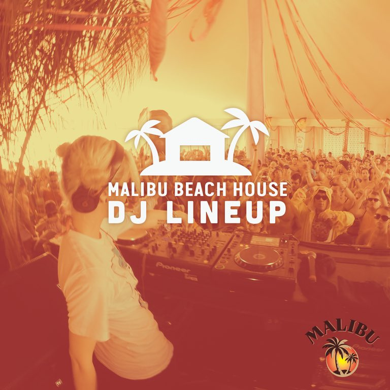 Malibu Beach House at Hangout Music Festival 2016. Photo by: Hangout Music Festival / Twitter
