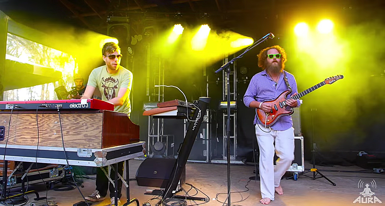 The Werks at the 2014 AURA Music Festival. Photo by: AURA Music Festival / YouTube