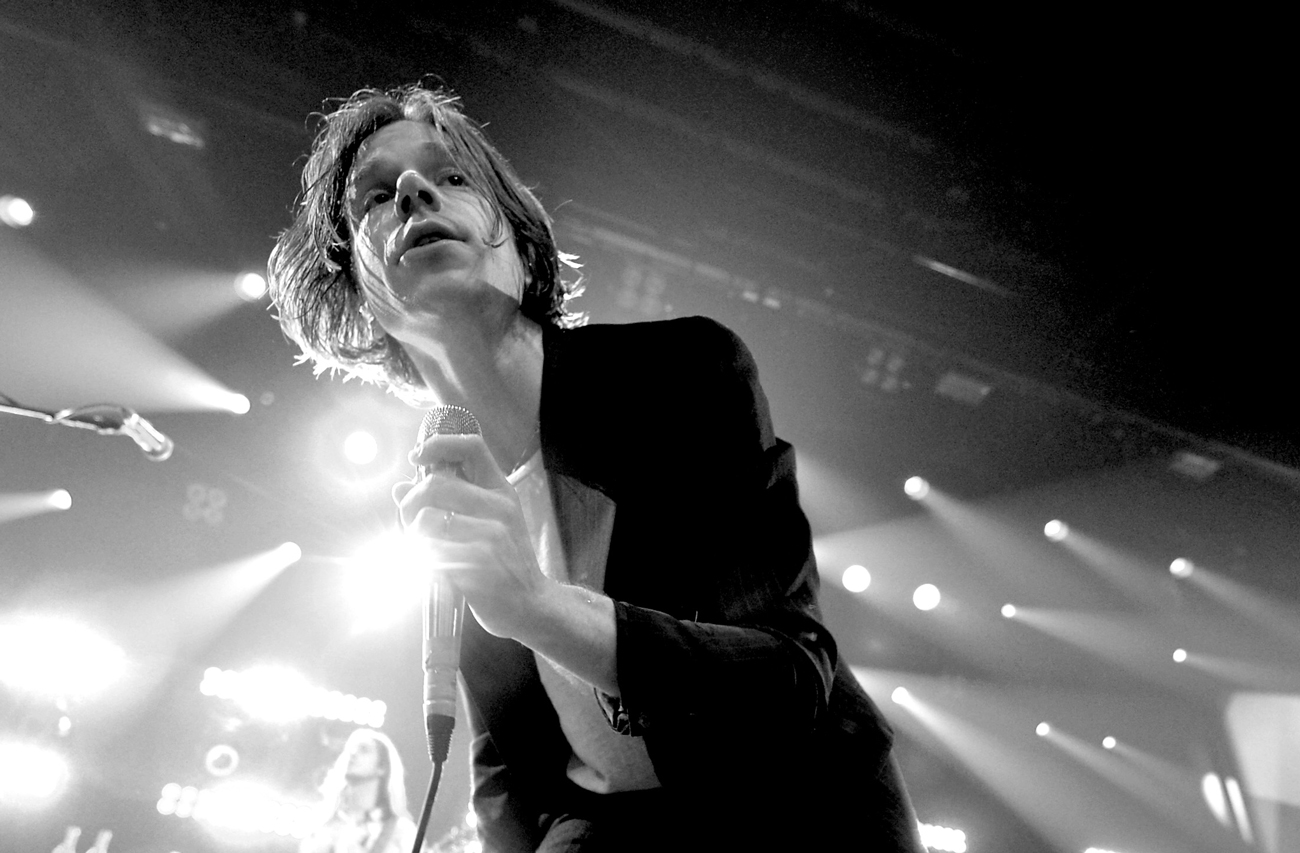 Singer Matt Shultz of Cage the Elephant performs at iHeartRadio Theater on January 20, 2016 in Burbank, California. Photo by: Kevin Winter/Getty Images for iHeartMedia